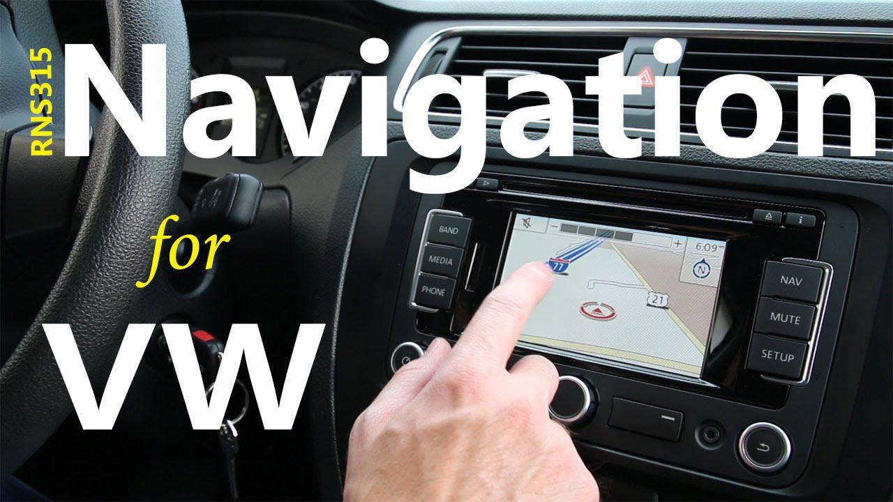 RNS 315 GPS radio navigation system FAQ | Volkswagen Skoda